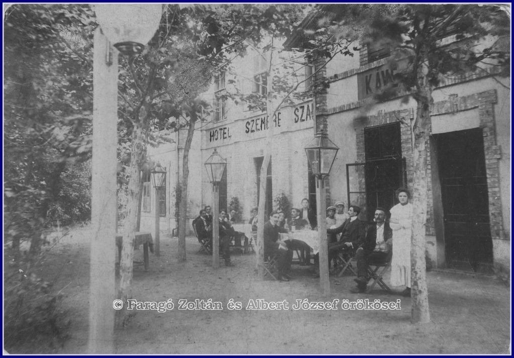 A Szemere szálló egykori épülete